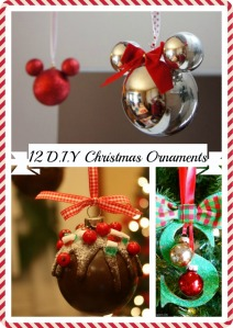 12 D.I.Y Christmas Ornaments