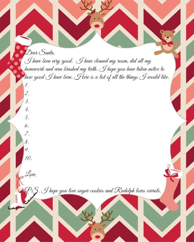 Dear Santa girl