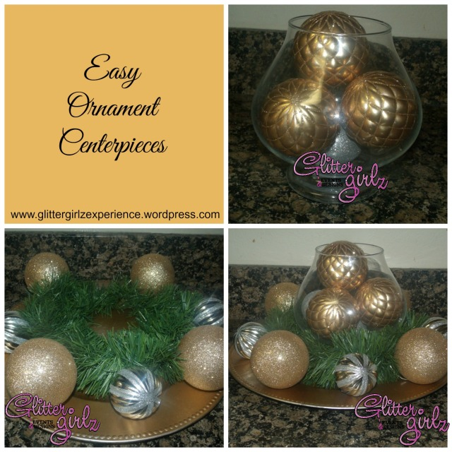 Easy Ornament Centerpieces Final