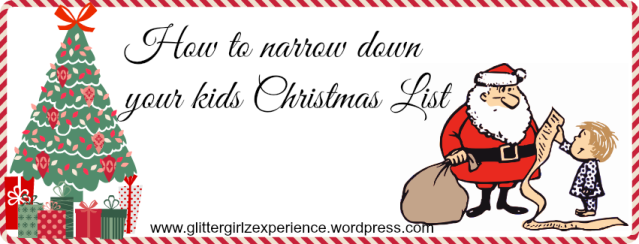 narrow down xmas list logo