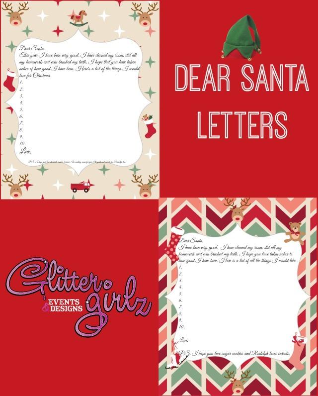 Santa Letter Collage