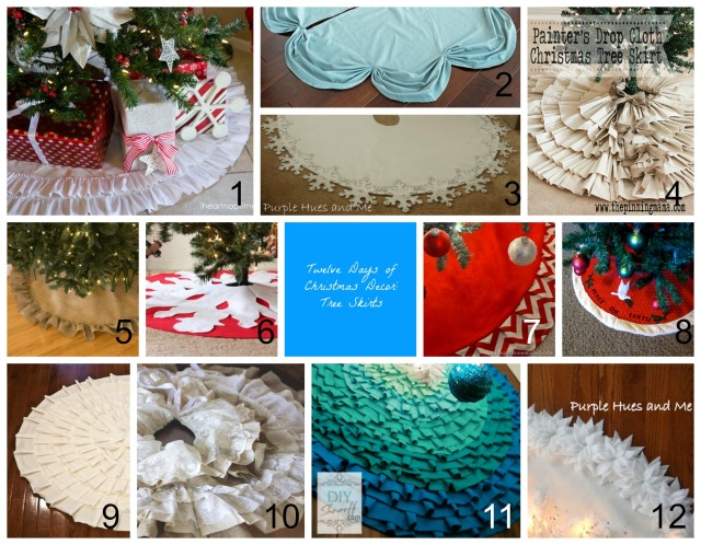 Tree Skirt Collage