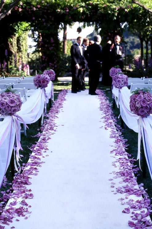 Purple weddings pictures