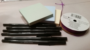 other items needed pens