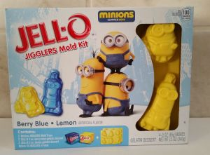 minion jello box